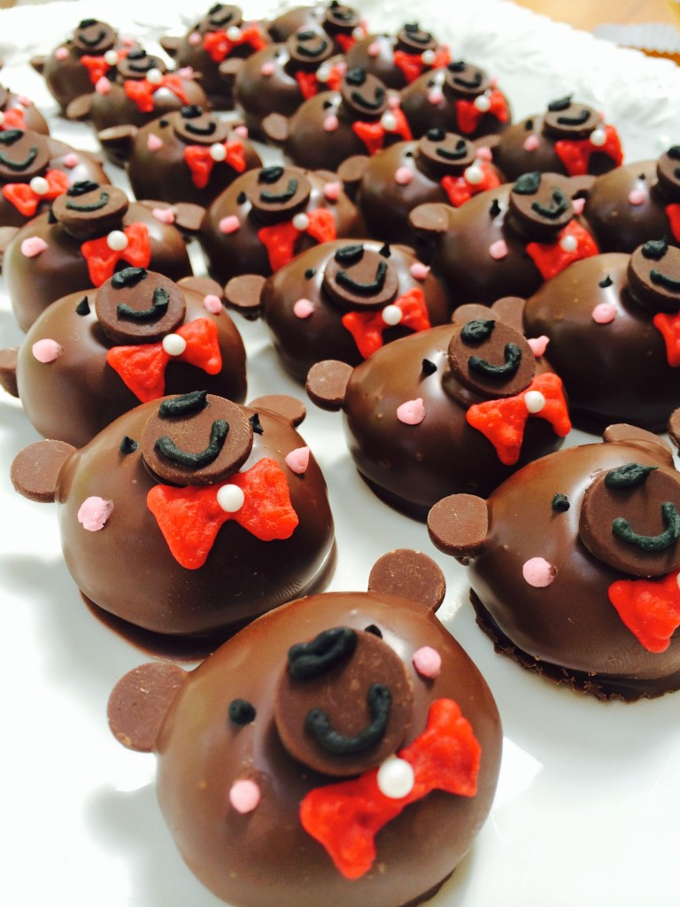 """Beary"" Brownie Bombs"