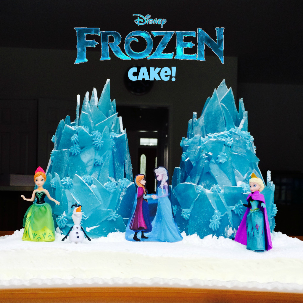 Disney's Frozen Ice Palace Cake