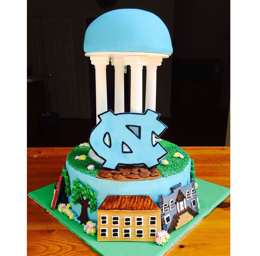 University of North Carolina, Chapel Hill Cake