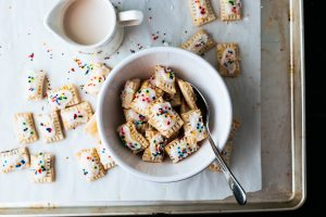 Mini Blueberry Pop-Tart Cereal [Gluten-Free & Vegan]